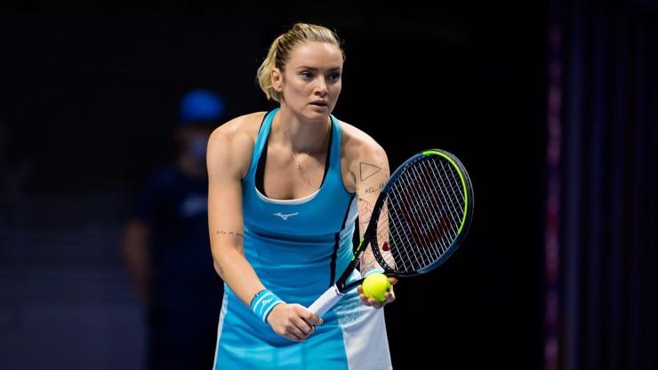Tenistka Martincová na French Open neuspěla. Diváky ale oslnila svou krásou