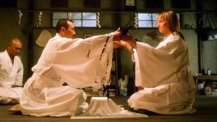 Sonny Čiba s Umou Thurman v Kill Bill.