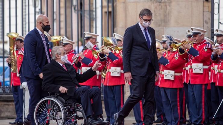 Prezident Zeman prosí Srby o odpuštění: Pomohli jste nám a my vás vybombardovali