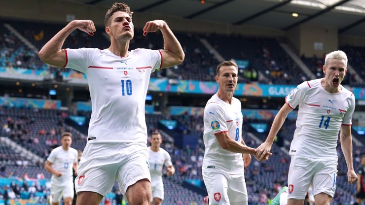 EURO 2021: Krvavá remíza. Patrick Shick potvrdil svou pověst hvězdy