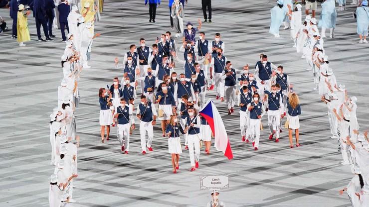 Zahájení olympiády obrazem:  Českou výpravu vedli Petra Kvitová a Tomáš Satoranský
