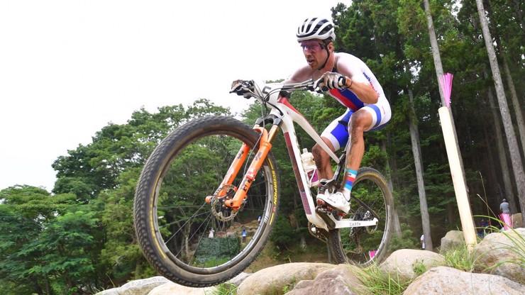 Neskutečná smůla: Cyklista Ondřej Cink měl medaili na dosah. O placku ho připravil defekt