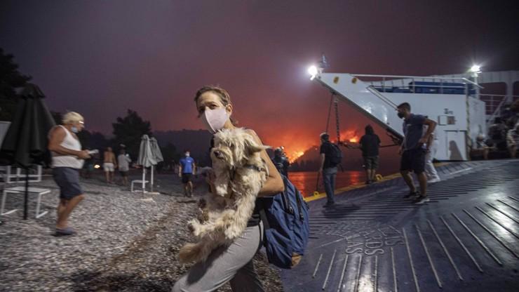 Řecko zachvátily požáry