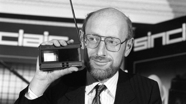 Ve věku jednaosmdesáti let zemřel otec počítačů Clive Sinclair.