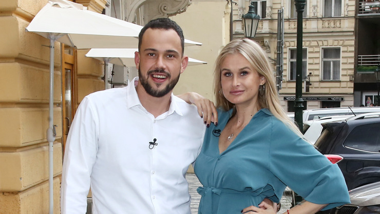 Patrik Veselý a Simone Hrašková