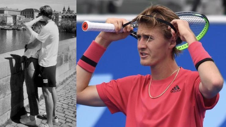 Láska dětí slavných otců: Tenista Korda s dcerou Nedvěda cukrovali na Karlově mostě