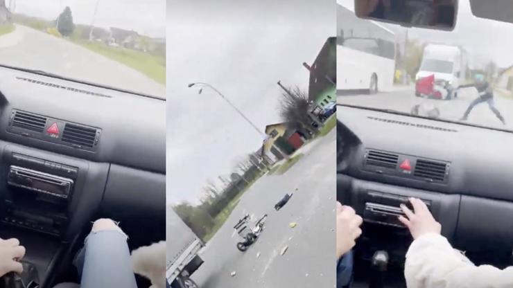 Hororové video! Český řidič nezodpovědnou jízdou rozmetal kočárek