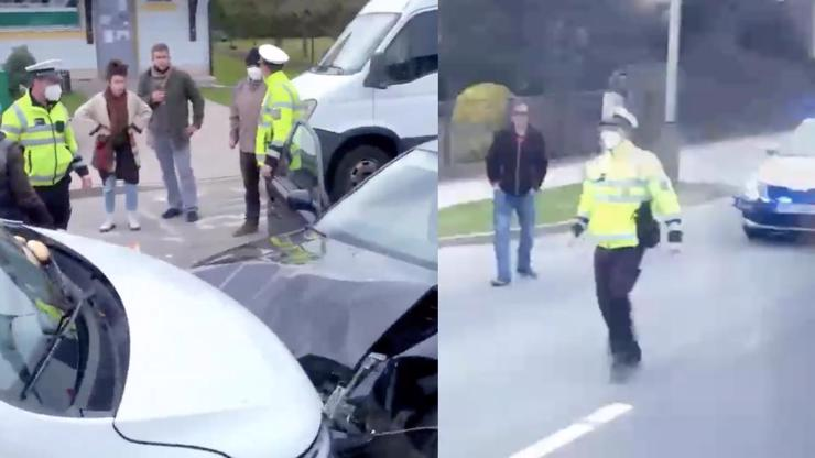 Hororová srážka s kočárkem! Objevilo se nové video z místa autonehody