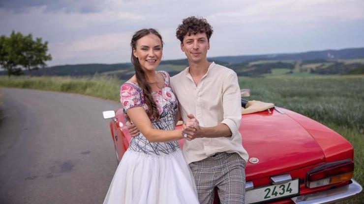 Jan Cina o StarDance: S Adrianou Maškovou jsme jako svatebčané