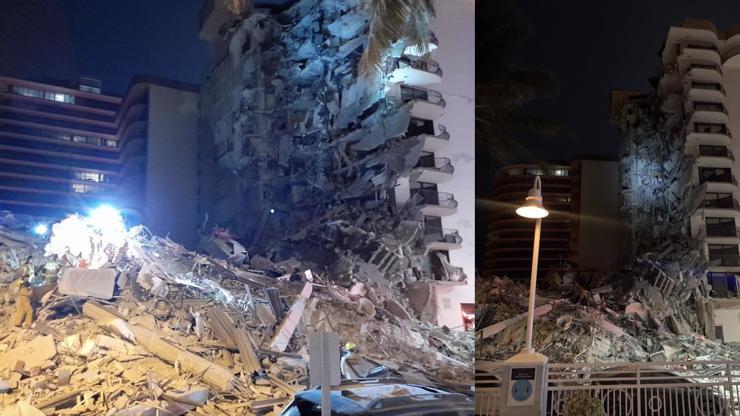 Video hrůzy: V Miami se zřítila budova s 12 patry, z trosek se ozývá křik