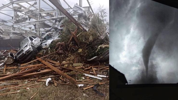 Děsivé tornádo na Moravě: Na lidi padaly stromy, záchranáři hlásí nejméně pět mrtvých