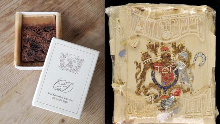 Kousek svatebního dortu Charlese a Diany se vydražil za 55 tisíc. Je starý 40 let!