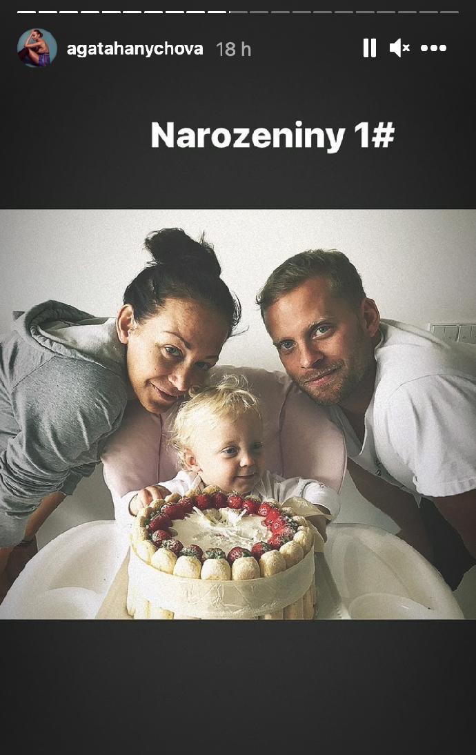 Mia Prachařová oslavila 4 roky: Maminka Agáta sdílela dojemnou fotku s Jakubem