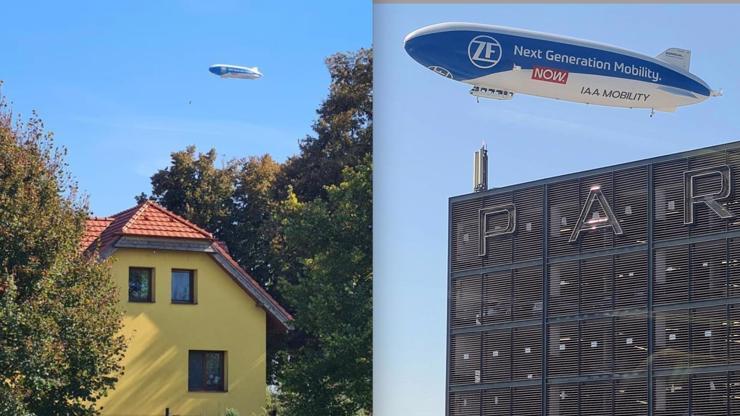 Táto, už letí: Obří vzducholoď dobyla Česko, národ obrátil hlavy k nebesům
