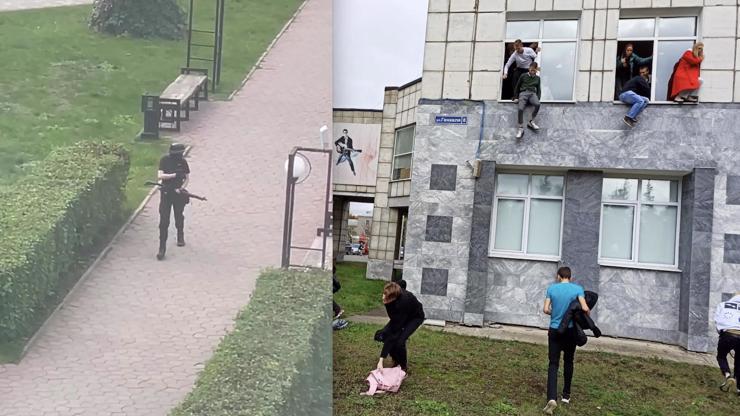 Děsivé detaily masakru na univerzitě: Útočník (†18) byl plný nenávisti, studenti skákali z oken