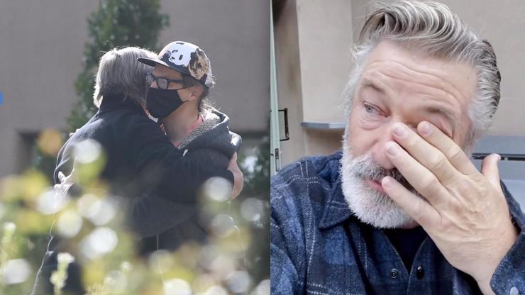 Slzy i objetí: Zdrcený Alec Baldwin se setkal s malým synem zastřelené kameramanky (†42)