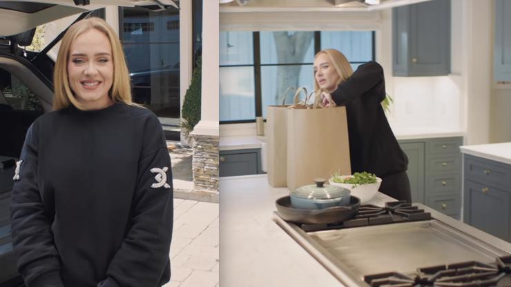 Adele provedla diváky svým domovem.