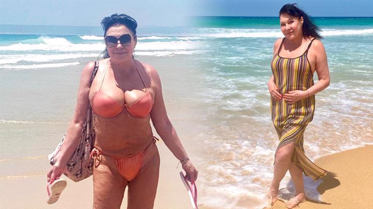 To nejsou písečné duny: Královna mužských pohledů Dagmar Patrasová šla v 65 letech do plavek