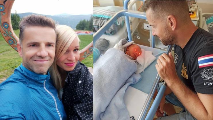 Čeněk Stýblo exkluzivně: Odtajnil, jestli je jméno syna pravé, a ukázal fotky