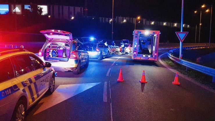 VIDEO: Uprostřed dálnice v Praze zkolaboval muž, záchrana života v přímém přenosu