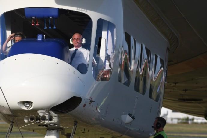 Vzducholoď ZF patří mezi největší na světě.