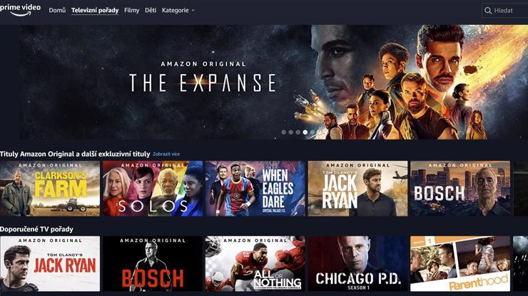 Další konkurence Netflixu mluví česky: Amazon Prime Video je za hubičku a má výborné seriály